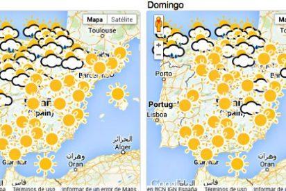 Los termómetros se desplomarán hasta 6 grados centígrados este domingo en España