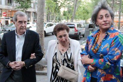 La infanta Margarita entra en estado de 'shock' tras la abdicación de su hermano, el Rey Juan Carlos