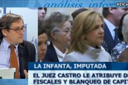 """La neutralidad que Marhuenda exige para la Infanta, la pierde con el juez Castro: """"Tiene poca pericia y mucha ideología"""""""