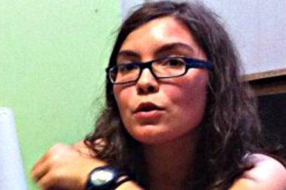 Rueda de prensa de una terrorista de Resistencia Galega desde la clandestinidad