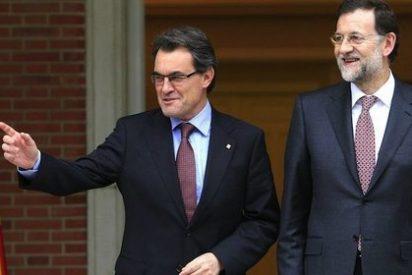 """Mas replica a Rajoy: Desde Catalunya se hace """"política en mayúsculas"""""""