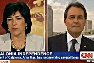 """Artur Mas propone en CNN que Felipe VI """"medie"""" para celebrar un referéndum para dividir España"""