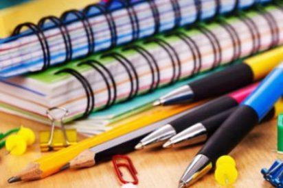 Educación convoca becas para material escolar que podrán beneficiar a más de 35.000 alumnos