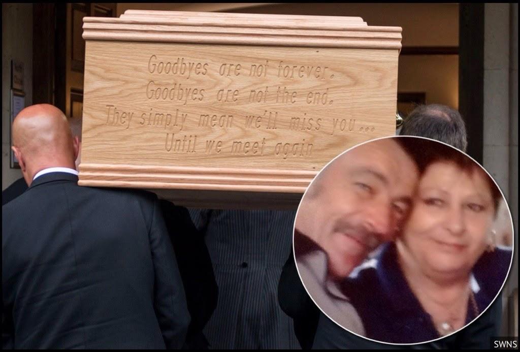 Un matrimonio ejemplar muere el mismo día y es incinerado en un ataúd doble