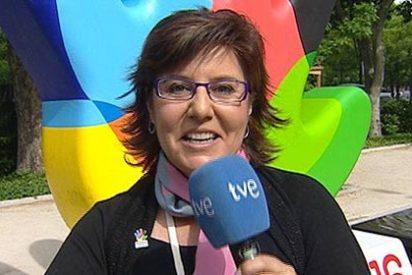 María Escario la lía en TVE con su viaje a Brasil