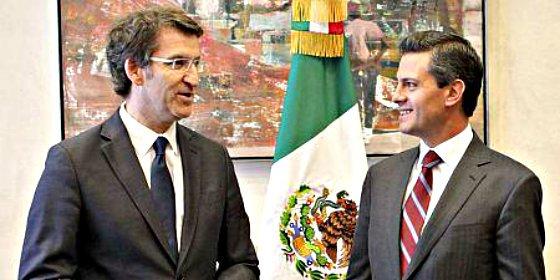 El presidente mexicano Peña Nieto reafirma la vigencia de los contratos de Pemex en Galicia