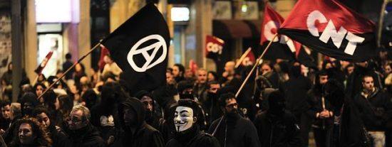 Los anarquistas controlan 500 centros de 'okupación' beligerantes en Barcelona y 15 en Madrid