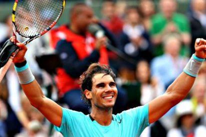 Nadal hace historia y pone Roland Garros a sus pies