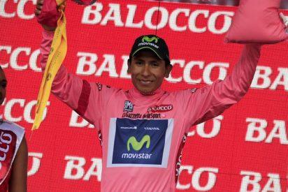 El colombiano Nairo Quintana gana a lo grande el Giro de Italia
