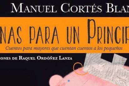 Manuel Cortés Blanco nos traslada a la infancia a través de cuentos para mayores contados a los más pequeños