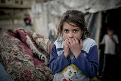 Maristas de Uruguay junto a los niños sirios