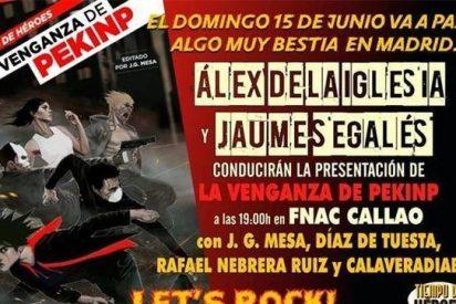 Álex de la Iglesia y Jaume Segalés presentan una novela multimedia