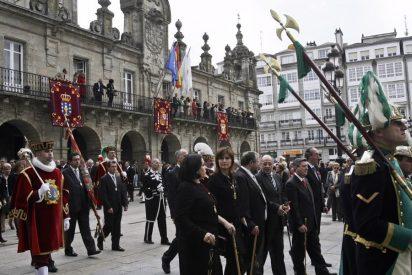 El Ayuntamiento de Santiago no envía ningún representante a la Ofrenda do Antigo Reino de Galicia
