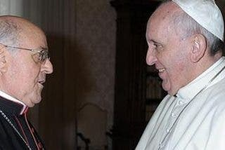 Francisco traza junto a Blázquez y Osoro el futuro de la Iglesia española