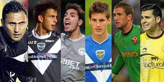 El Sevilla maneja una lista de seis porteros