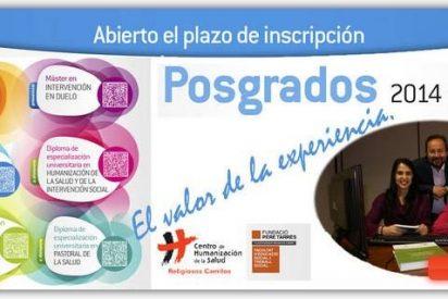 Posgrados en el Centro de Humanización de la Salud para el curso 2014-2015