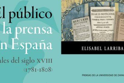 """Elisabel Larriba: """"La prensa tuvo un papel decisivo en la expansión de ideas para la modernización económica, política y social"""""""
