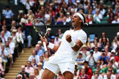 Rafa Nadal comienza a 'cortar' la hierba de Wimbledon y aparta viejos fantasmas ante el checo Rosol