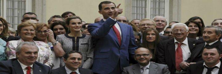 """Felipe VI a las ONG: """"Sois la foto de la solidaridad en España"""""""
