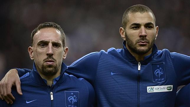 Primeras palabras de Ribery tras quedarse fuera del Mundial