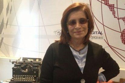 """Carmen Rigalt, fascinada con Pablo Iglesias: """"Las falanges mediáticas inventan argumentos peregrinos para desacreditarlo"""""""