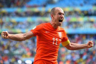 """El holandés Robben reconoce que hizo """"un piscinazo horrible y estúpido"""" contra México"""