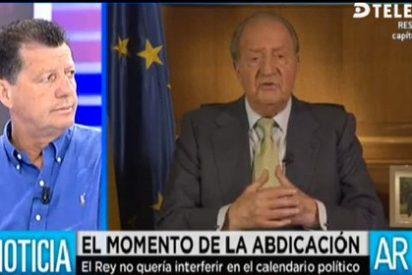 """Alfonso Rojo critica el montaje del vídeo del Rey: """"Solo le faltó salir en chándal"""""""