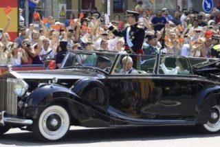 La historia 'secreta' del Rolls-Royce en el que viajó Felipe VI durante su proclamación