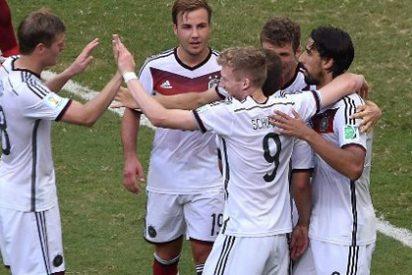 Alemania tritura a Portugal con hat-trick de Müller y otro tanto de Hummels