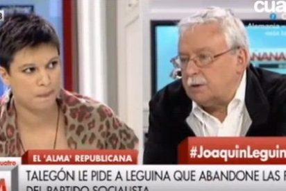 Talegón se atreve a darle lecciones de feminismo a Leguina en Cuatro