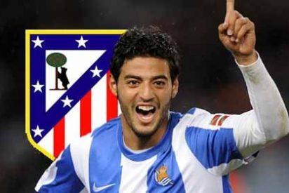 El Atlético, a por Carlos Vela