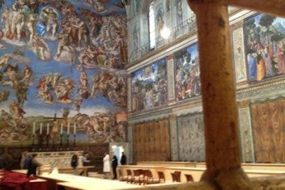 Roma cambia el sistema de luz y climatización de la Capilla Sixtina