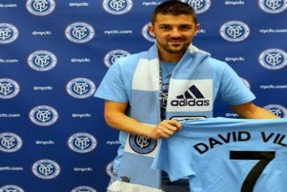 Villa ya es jugador del New York City