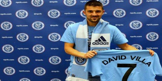 Villa ya es jugador del New York City