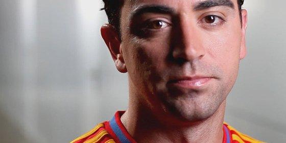 Xavi anuncia su adiós de la Selección
