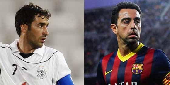 ¡Quieren juntar a Xavi y Raúl!