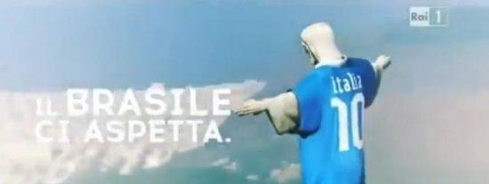 La iglesia brasileña pide 7 millones a la RAI por vestir al Cristo Redentor con la camiseta de Italia