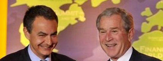 El País recuerda cómo el Rey intermedió ante Bush para que recibiera a Zapatero
