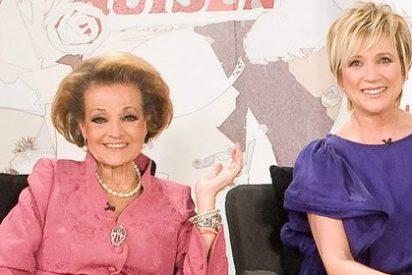 """El extraño reproche de Inés Ballester a Carmen Sevilla: """"No fue una buena experiencia trabajar con ella en TVE"""""""