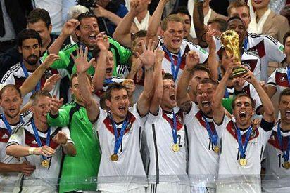 Alemania no sólo ganó en el campo