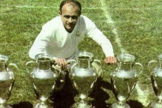 El madridismo entero despide llorando a Alfredo Di Stéfano en el Santiago Bernabéu