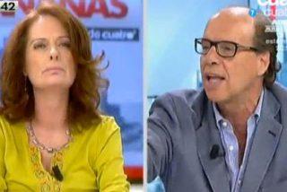 """Jaime González corta en seco los ataques de Alicia Gutiérrez: """"¡Te pones como una hiena!"""""""