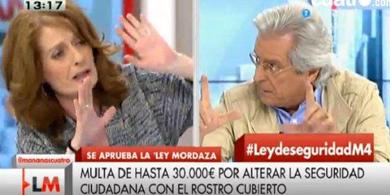 "Javier Nart manda a paseo a la 'inquisidora' Alicia Gutiérrez: ""¡Vete a freír puñetas!"""
