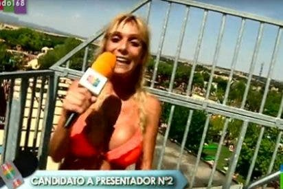 A una candidata para ser reportera de 'Zapeando' (laSexta) se le escapa un pezón y pasa el casting