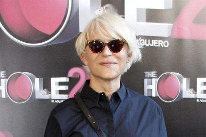 Antonia San Juan actúa en el Teatro Nuevo Apolo de Madrid