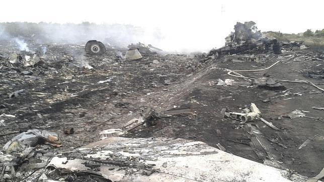EEUU denuncia que el avión fue derribado por separatistas prorrusos