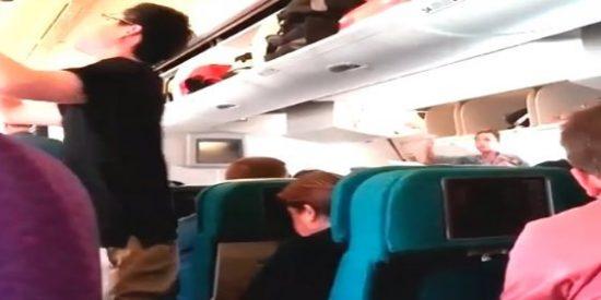 El vídeo que fue grabado a bordo del 'avión de la muerte' poco antes de la tragedia