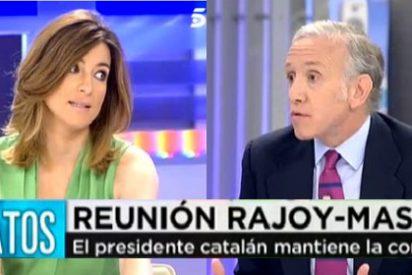 """Inda le salta a la yugular a Sandra Barneda: """"La catalanidad no es lo que decís y el referéndum es una mamarrachada"""""""