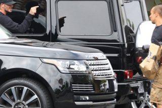 Beckham pierde los papeles con los paparazzi por una persecución en Los Angeles