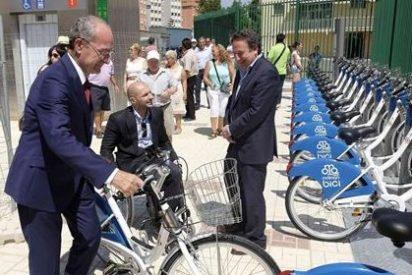 Málaga mantendrá un año más la gratuidad del sistema de préstamo de bicicletas